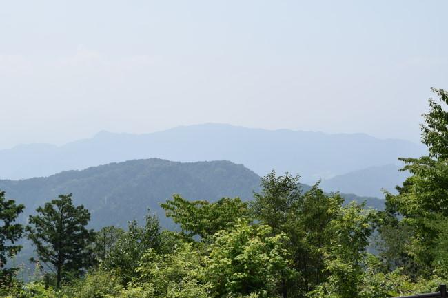 高尾山 山頂 景色1