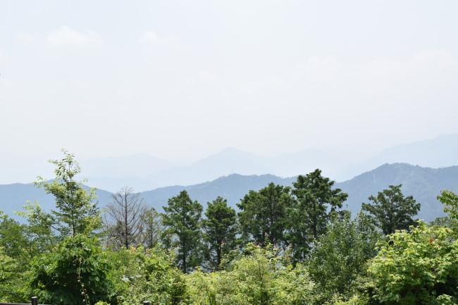 高尾山 山頂 景色2