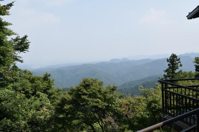 高尾山 1号路 景色1