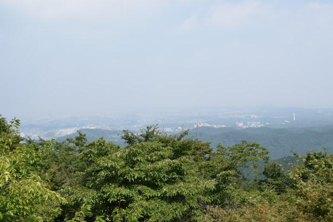 高尾山 1号路 景色2