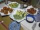 夕食に揚げた天ぷら