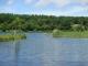 女神湖の風景