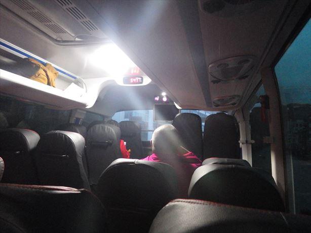 西寧行バス