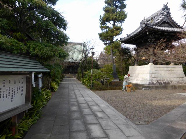 證誠寺の狸ばやし1