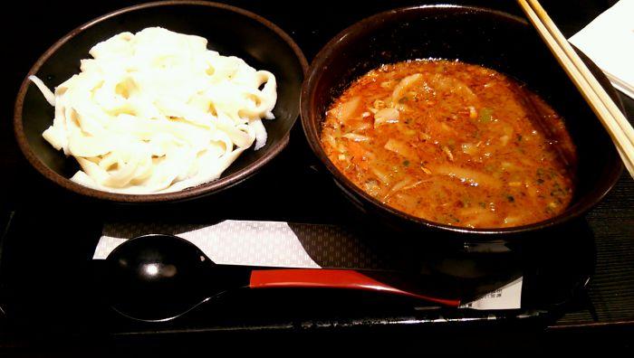 八丈島_刀削麺つけめん