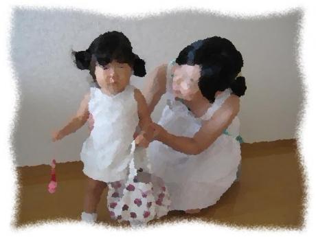 2013年8月29日Iさん親子