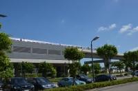 高鐵桃園駅を発車するMRT空港線150726