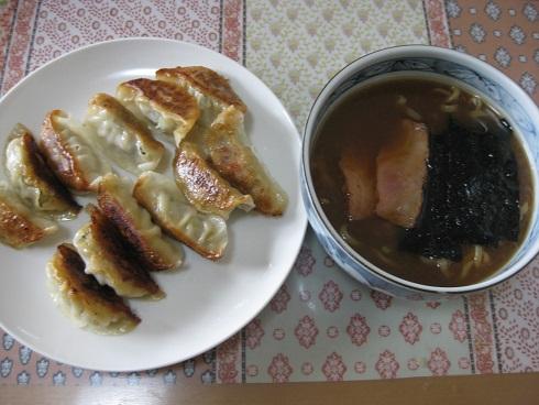 武蔵家ラーメン 餃子