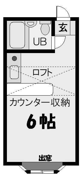 ■物件番号4126 辻堂海側!最安値2.9万円!激安物件!カウンターキッチン!チサンでサーフィン!