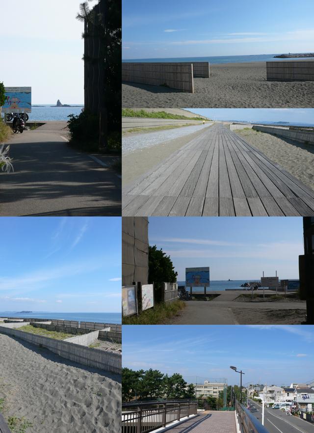 物件から自転車5分でビーチです!!