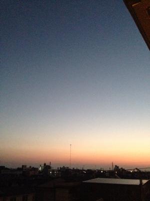 2014年最後の朝日