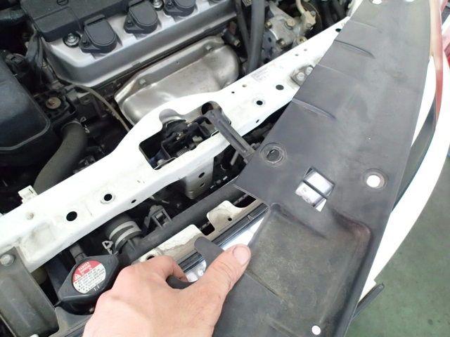ホンダ ストリーム エアコン修理