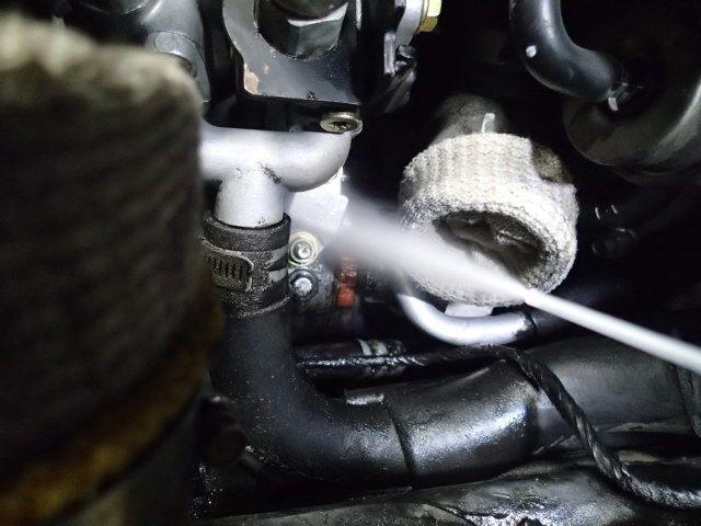 スカイラインBNR32 エアコン修理
