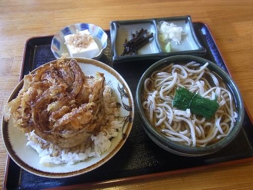 ミニ天丼小鉢セット
