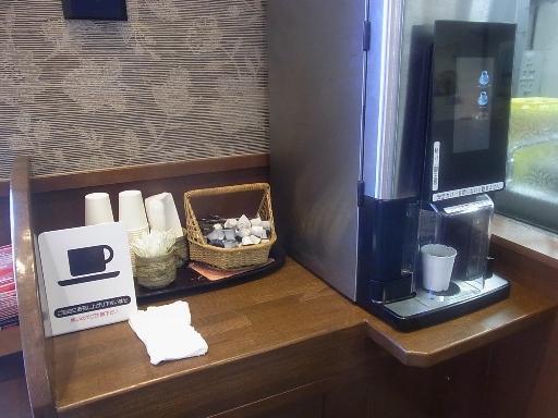 セルフのコーヒーメーカー