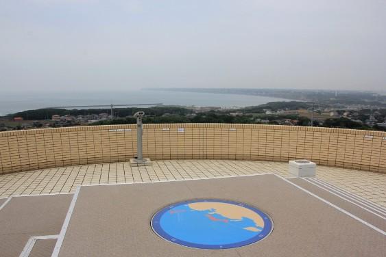 展望館からの眺望