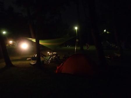 キャンプじゃ!