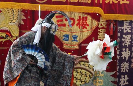 石見神楽長澤社中 大蛇1