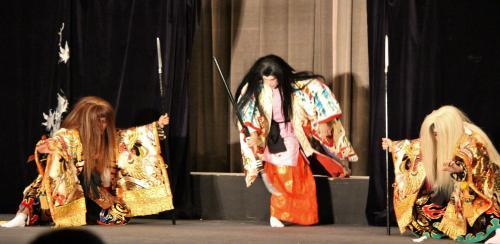 春木神楽団 滝夜叉姫2