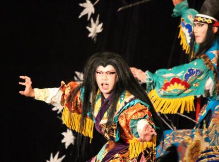 春木神楽団 滝夜叉姫5