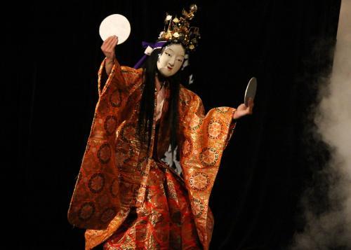 上川戸神楽団 岩戸2