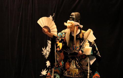 上川戸神楽団 岩戸3
