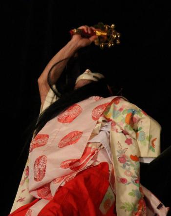上川戸神楽団 岩戸4
