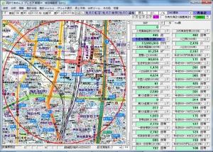 いきなり!ステーキ秋葉原万世橋店周辺500m圏データ