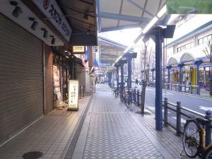 いきなり!ステーキ蒲田店前道路
