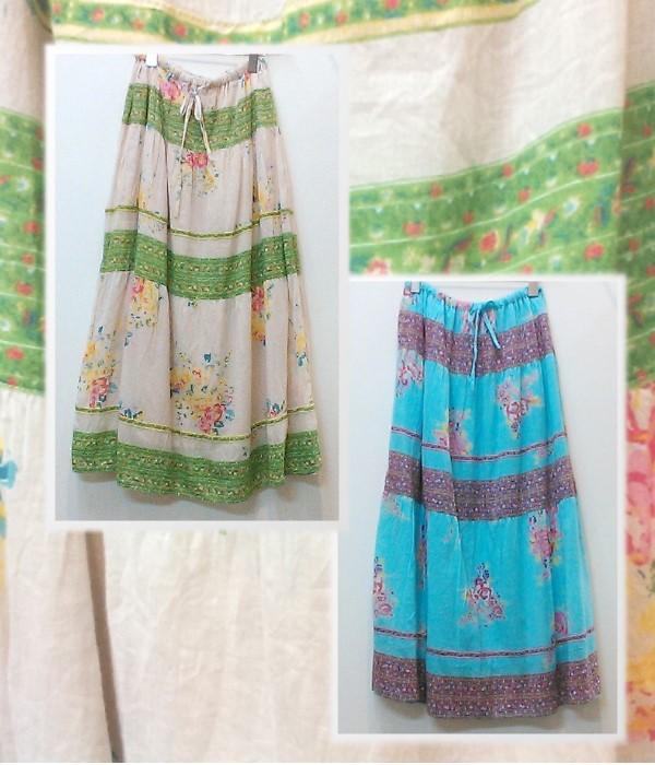 Shanti2 ジョリブーケ スカート ¥4900+税