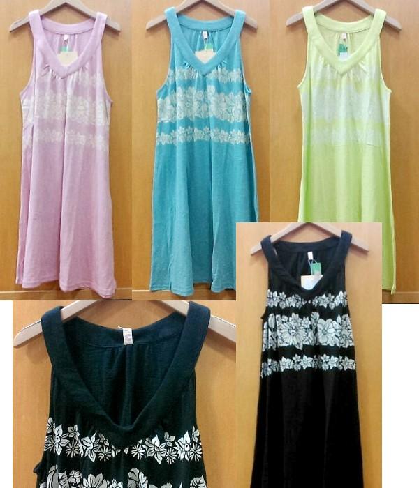 Shanti2 11538-141 フラワーボーダー ドレス ¥4500+税