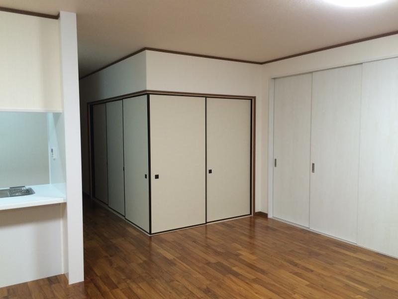 O邸改修工事完成和室閉