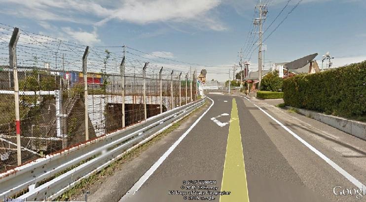 2015-7-6大府市北山のgu-gurua-sushashinn 2(下を新幹線)
