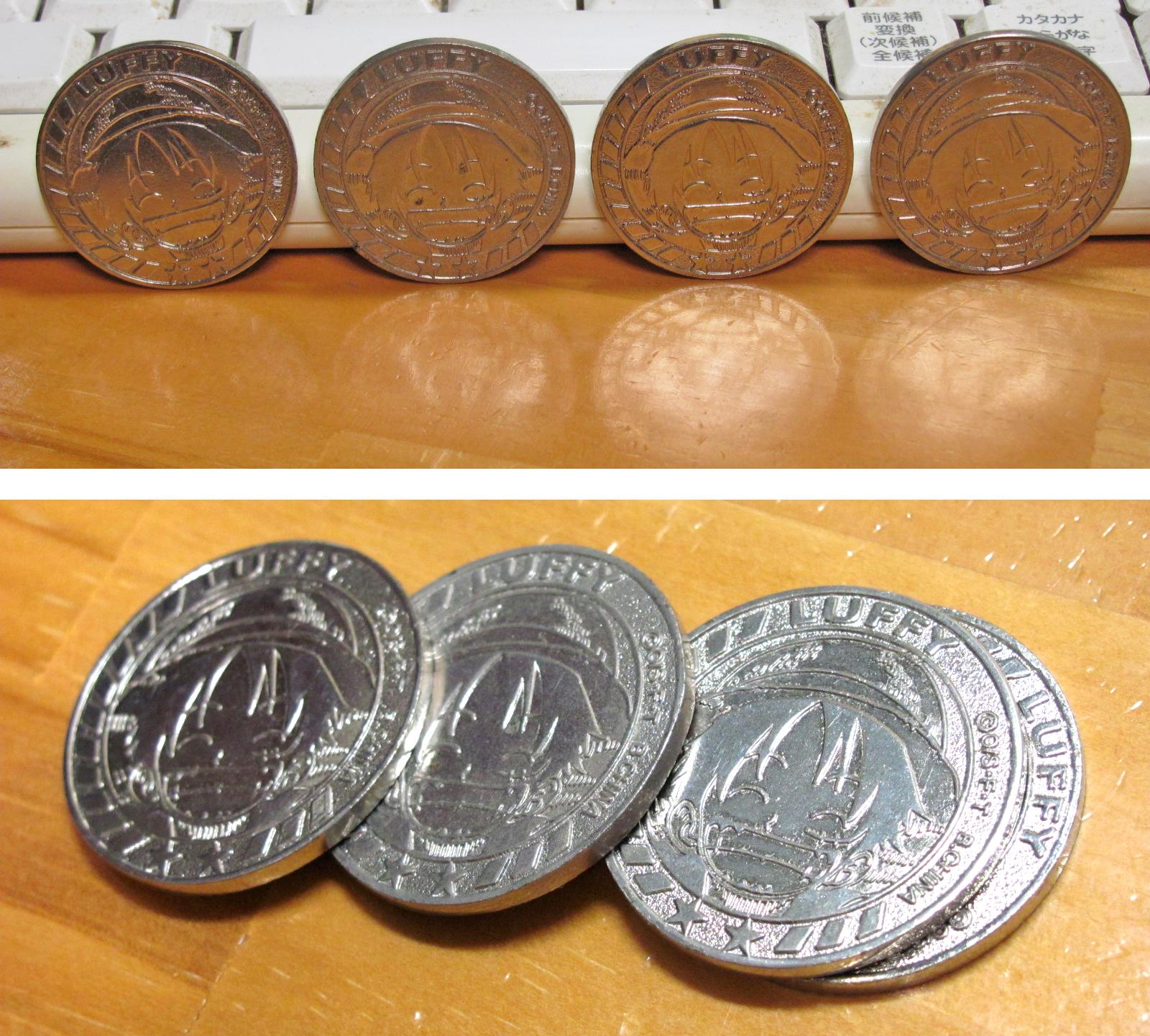 ワンピース コイン