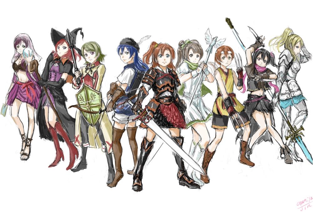 スクールアイドルファンタジー 【ラブライブ!】