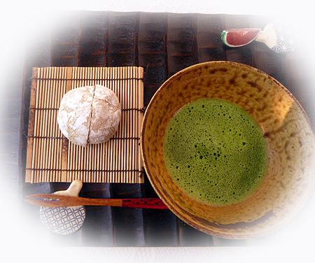 麦ころがし&お抹茶