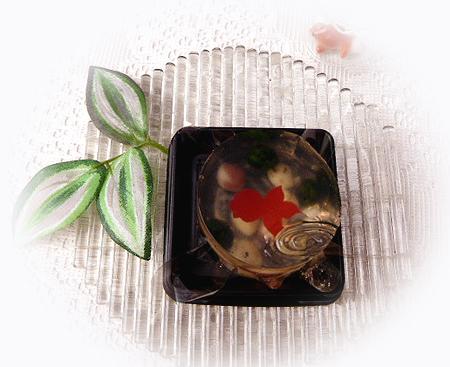 季節の和菓子 金魚