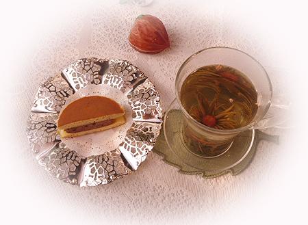 うさどら・生チョコ&工芸茶