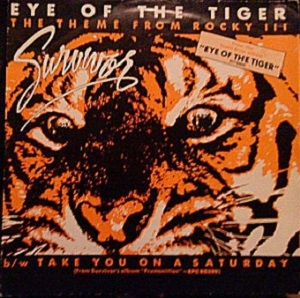 Eye of the tiger -cover