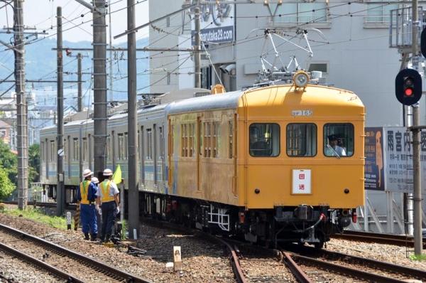 5000系入場車両到着(2015年6月22日)