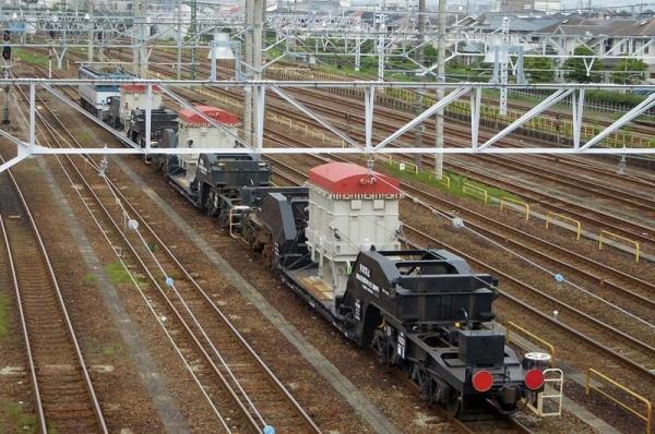 8860レ特大貨物輸送シキ1000(2015年7月11日)