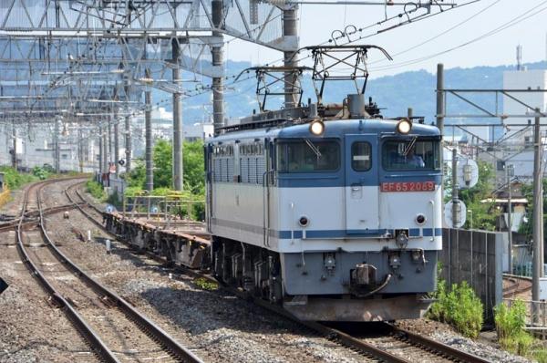 控車コキ輸送9865レ(2015年6月22日)