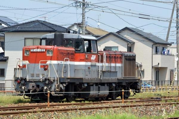 DE10 1165入換え作業7090レ(2015年5月30日)