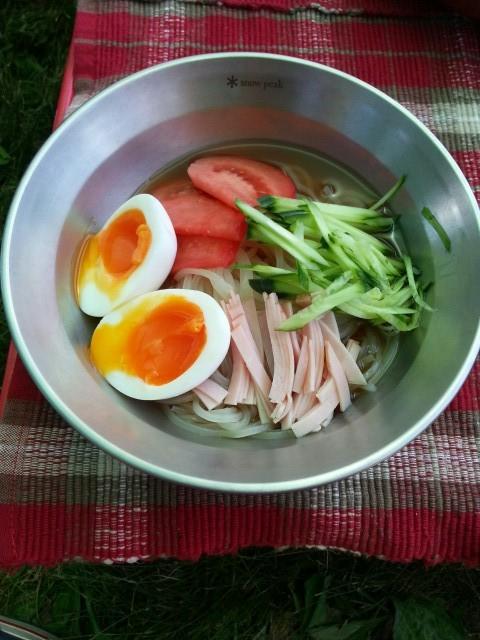 料理ー冷麺