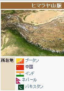 wikiヒマラヤ山脈