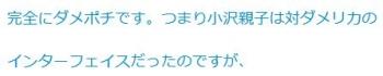 ten完全にダメポチです。つまり小沢親子は対ダメリカのインターフェイスだった