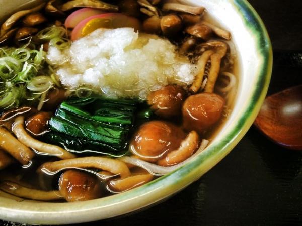 141206-ナメコおろし蕎麦@天照庵