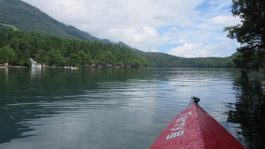 7月19日今年初めての青木湖カヌー (2) (520x293)
