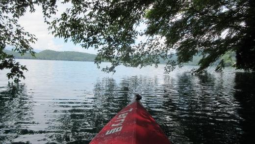 7月19日今年初めての青木湖カヌー (4) (520x293)