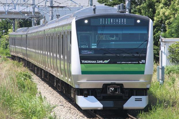 大口駅 東神奈川方面行